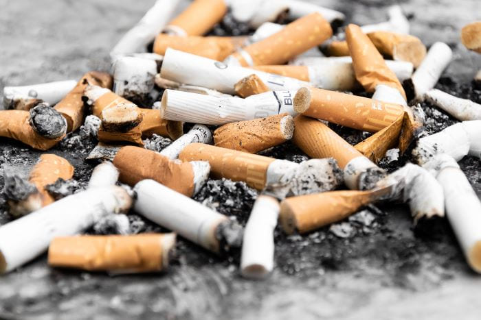 cendrier arreter de fumer