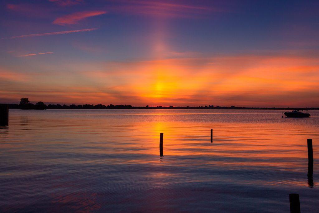 visualiser coucher de soleil
