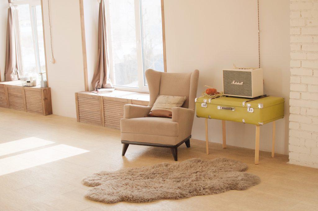 exemple d'espace à la maison pour une téléconsultation en hypnose ou pnl