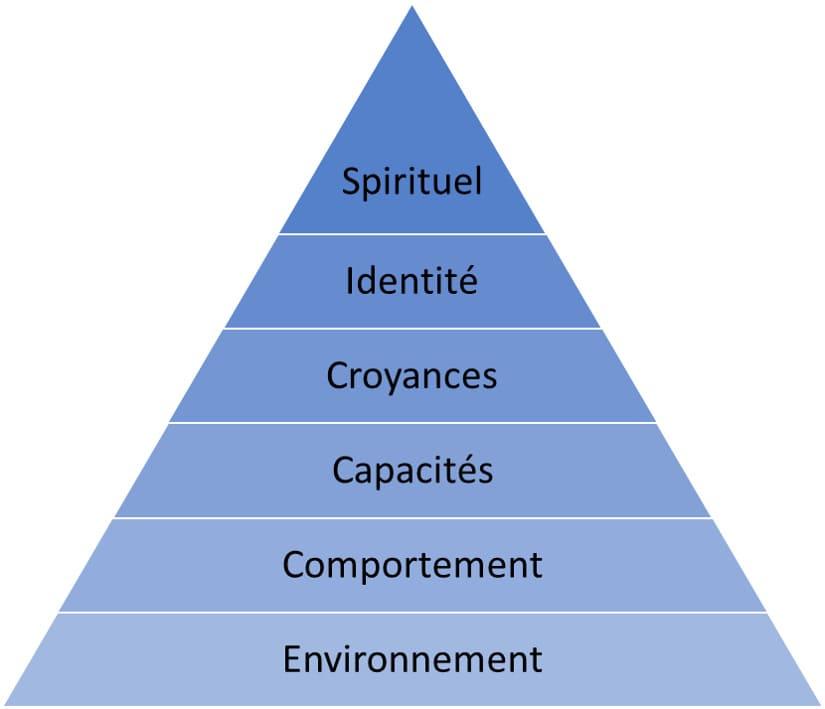 niveaux logiques pnl pyramide de robert dilts
