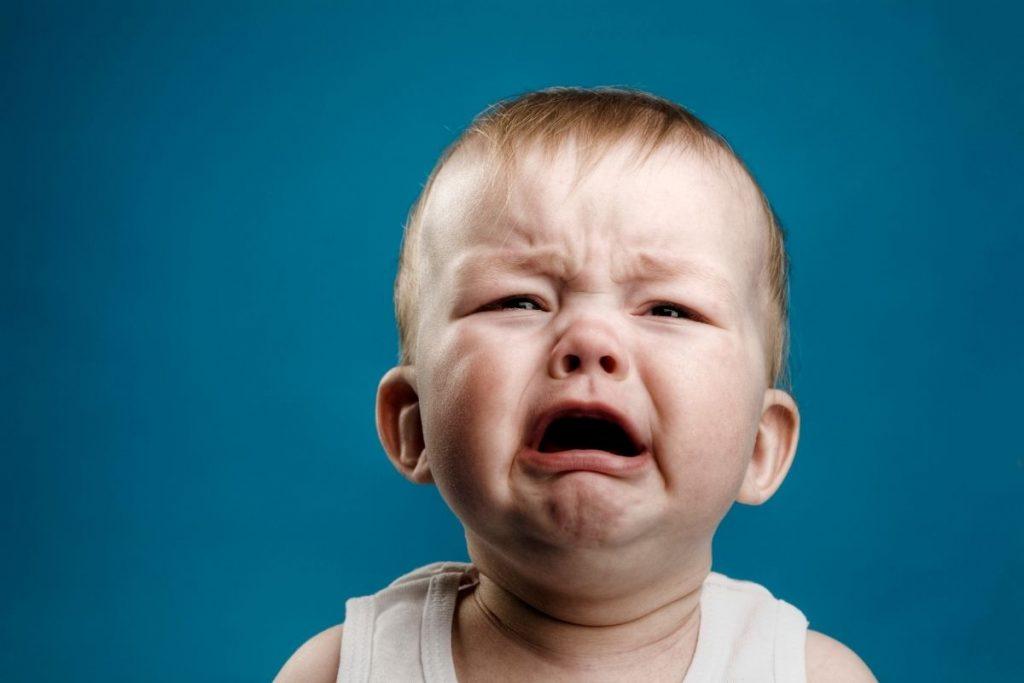 pleurs de bébé