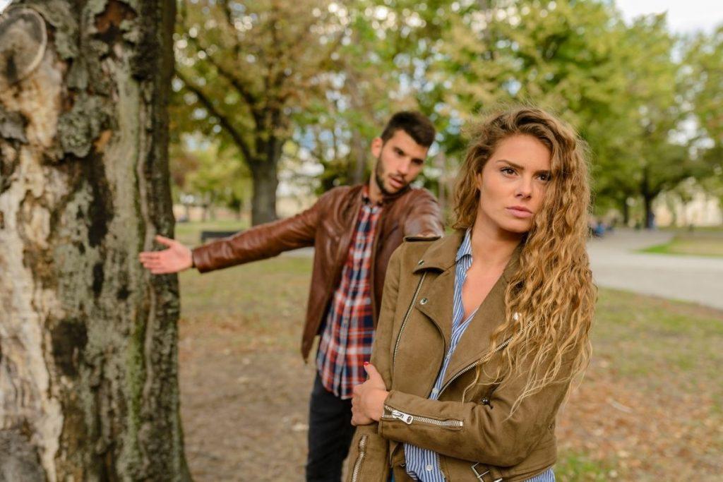 couple en conflit séparation deuil
